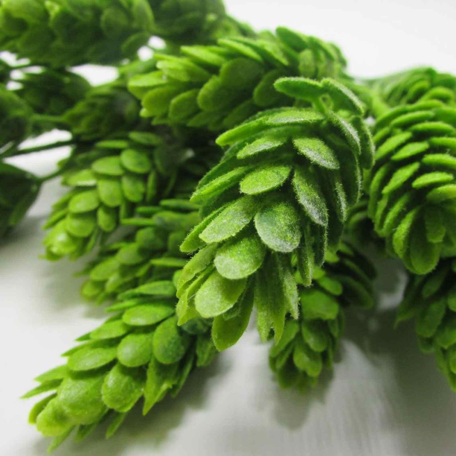 Folhagem de lúpulo plantas artificiais para decoração rústica