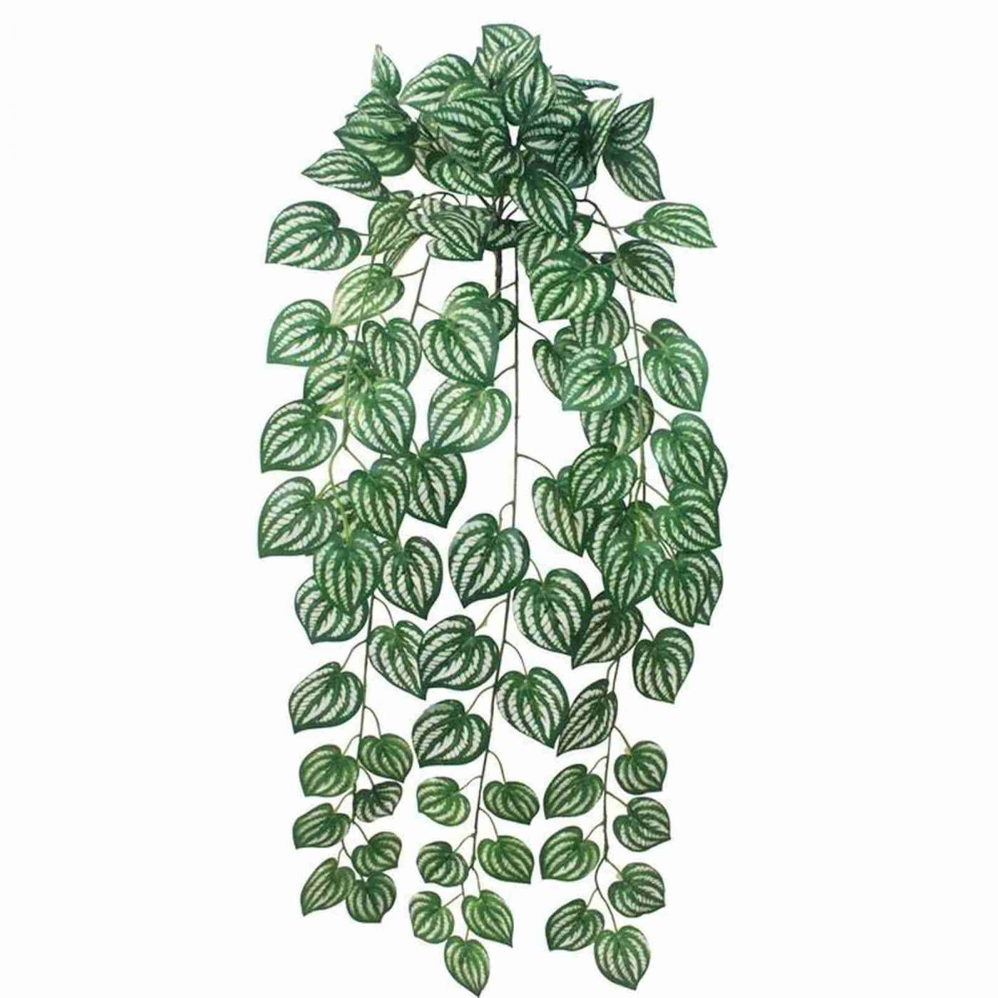 Galhos de folhas de melancia artificiais planta artificial