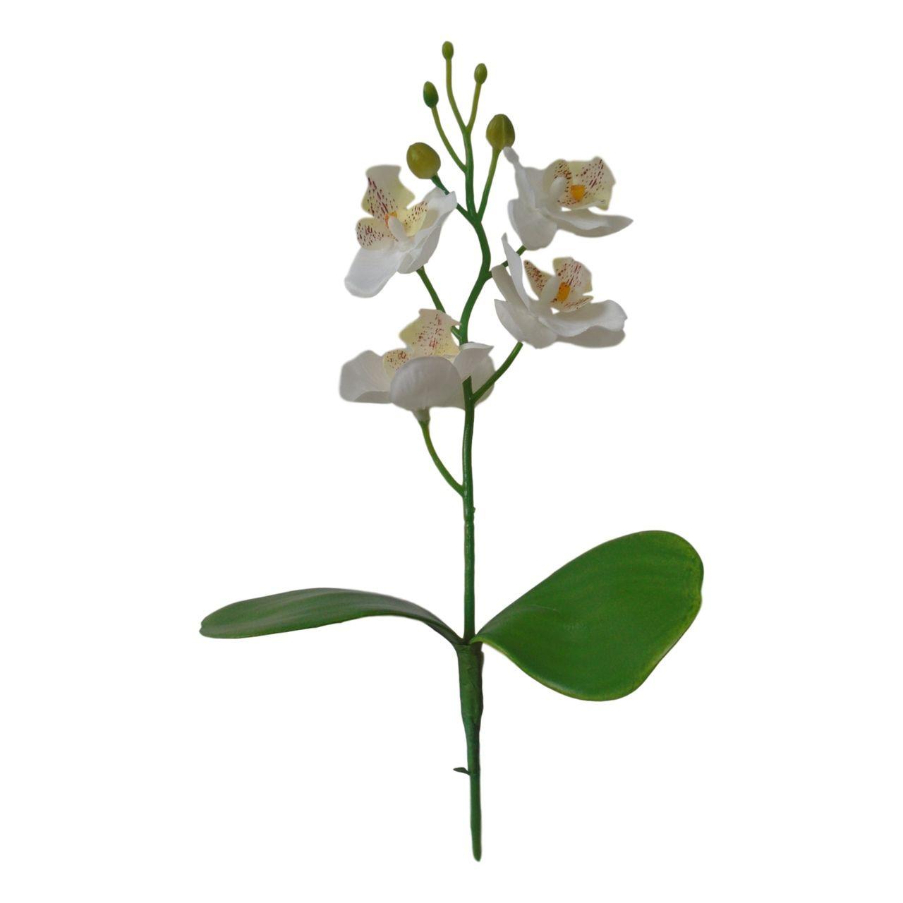 Kit 12 mini orquídeas artificiais Flor Artificial