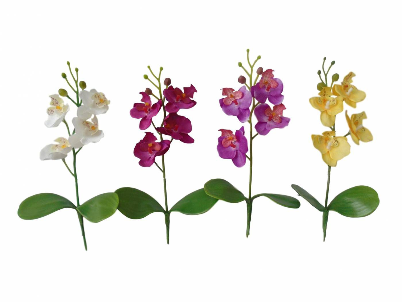 Kit 10 mini orquídeas artificiais Flor Artificial