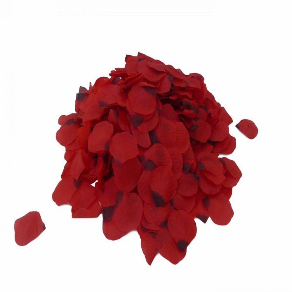 3 Kit de Pétalas de Rosas artificiais em tecido