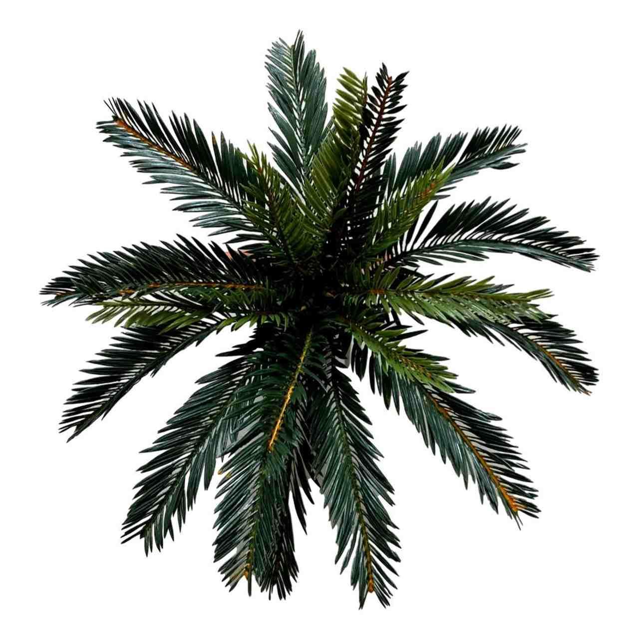 Planta Artificial Palmeira Cica Para Arranjos 42 Cm