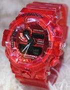 Relógio G-SHOCK Caixa de aço Pulseira de Borracha modelo 4 LINHA PREMIUM