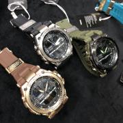 Relógio G-SHOCK Caixa de aço Pulseira de Borracha modelo 6 LINHA PREMIUM