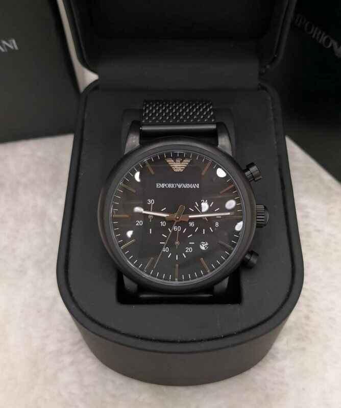 Relógio Empório Armani modelo 5 LINHA PREMIUM
