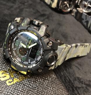 Relógio Casio G-Shock Anadigi - camuflado MODELO 4 LINHA PREMIUM