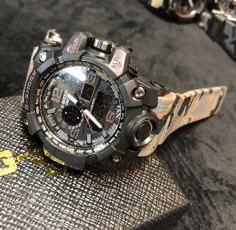 Relógio Casio G-Shock Anadigi - camuflado MODELO 6 LINHA PREMIUM