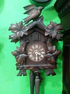 Relógio Cuco a Cordas 2 Pesos