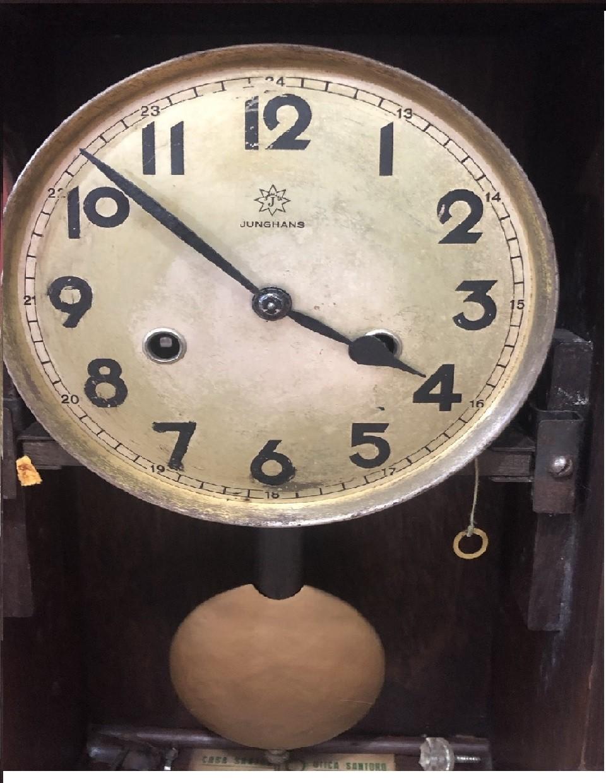 Relógio de parede Carrilhao Junghans