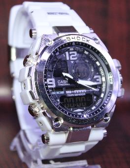 Relógio G-SHOCK Caixa de aço Pulseira de Borracha modelo 3 LINHA PREMIUM