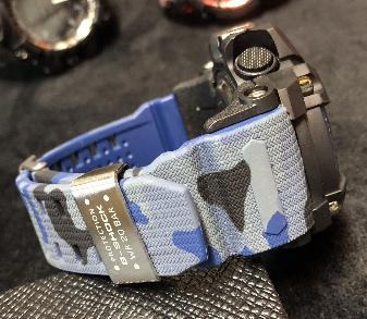 Relógio  Casio G-Shock Anadigi - camuflado/AZUL MODELO1 LINHA PREMIUM