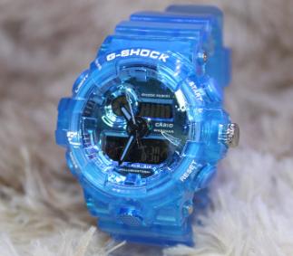 Relógio G-SHOCK Caixa de aço Pulseira de Borracha modelo 1 LINHA PREMIUM