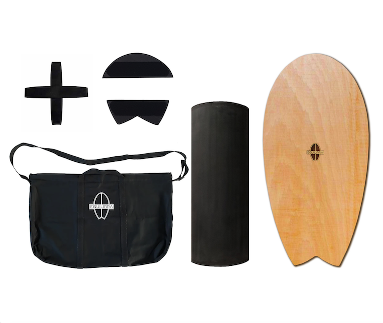 Kit Equilibra - Modelo Wood com Base 360 + Sacola Premium