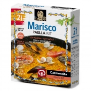 KIT PARA PAELLA DE FRUTOS DO MAR (MARISCOS) CARMECITA - 225g