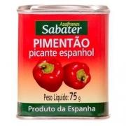 PIMENTÃO PICANTE ESPANHOL SABATER - 75g