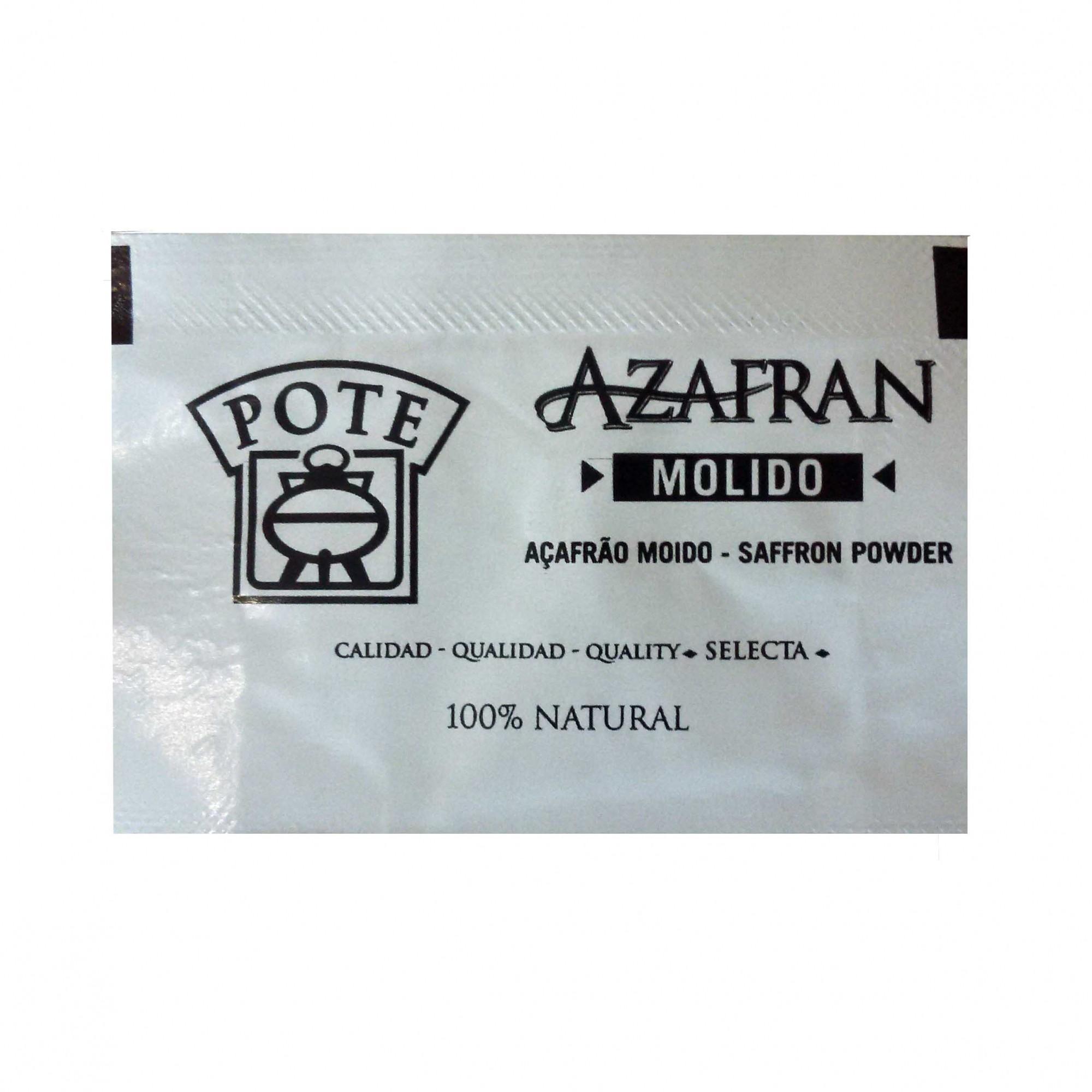 AÇAFRÃO MOÍDO - 100 mg  - Empório Pata Negra