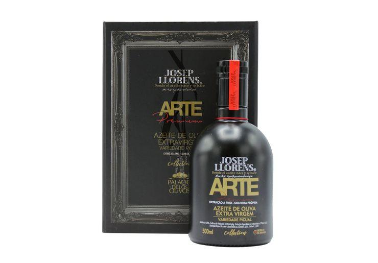 AZEITE EXTRA VIRGEM ARTE PREMIUM JOSEP LLORENS C/ ESTOJO - 500ml  - Empório Pata Negra