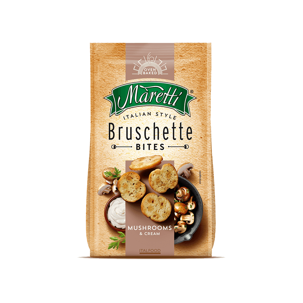 Bruschetta Maretti Mushrooms & Cream - 85 G  - Empório Pata Negra
