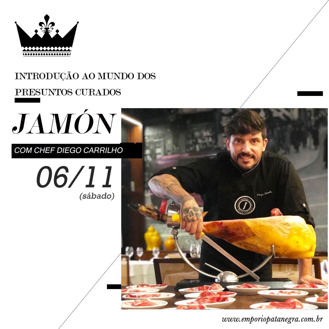 CURSO MAESTRO CORTADOR DE JAMON  - Empório Pata Negra