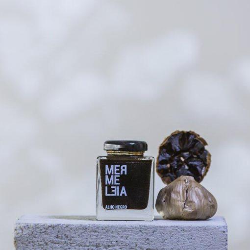 GELÉIA DE ALHO NEGRO MERMELEIA 100g  - Empório Pata Negra