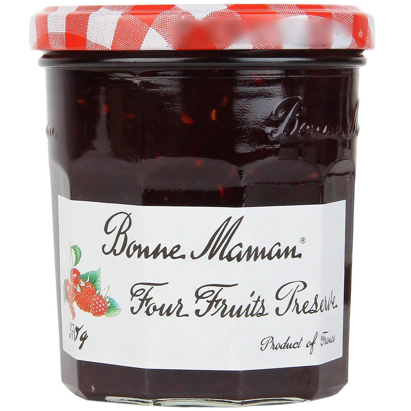 Geléia Francesa Bonne Maman Frutas Vermelhas - 370g  - Empório Pata Negra