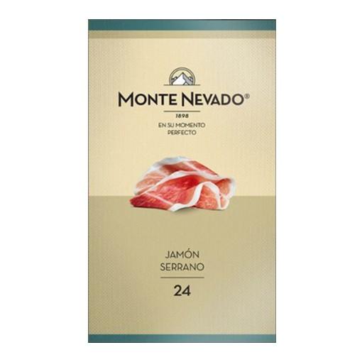 Jamón Serrano 24 meses Monte Nevado Fatiado - 85g  - Empório Pata Negra