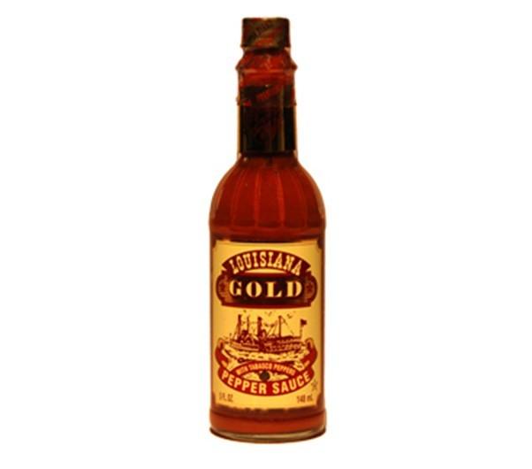 LOUSIANA GOLD RED PEPPER SAUCE - 57ml  - Empório Pata Negra