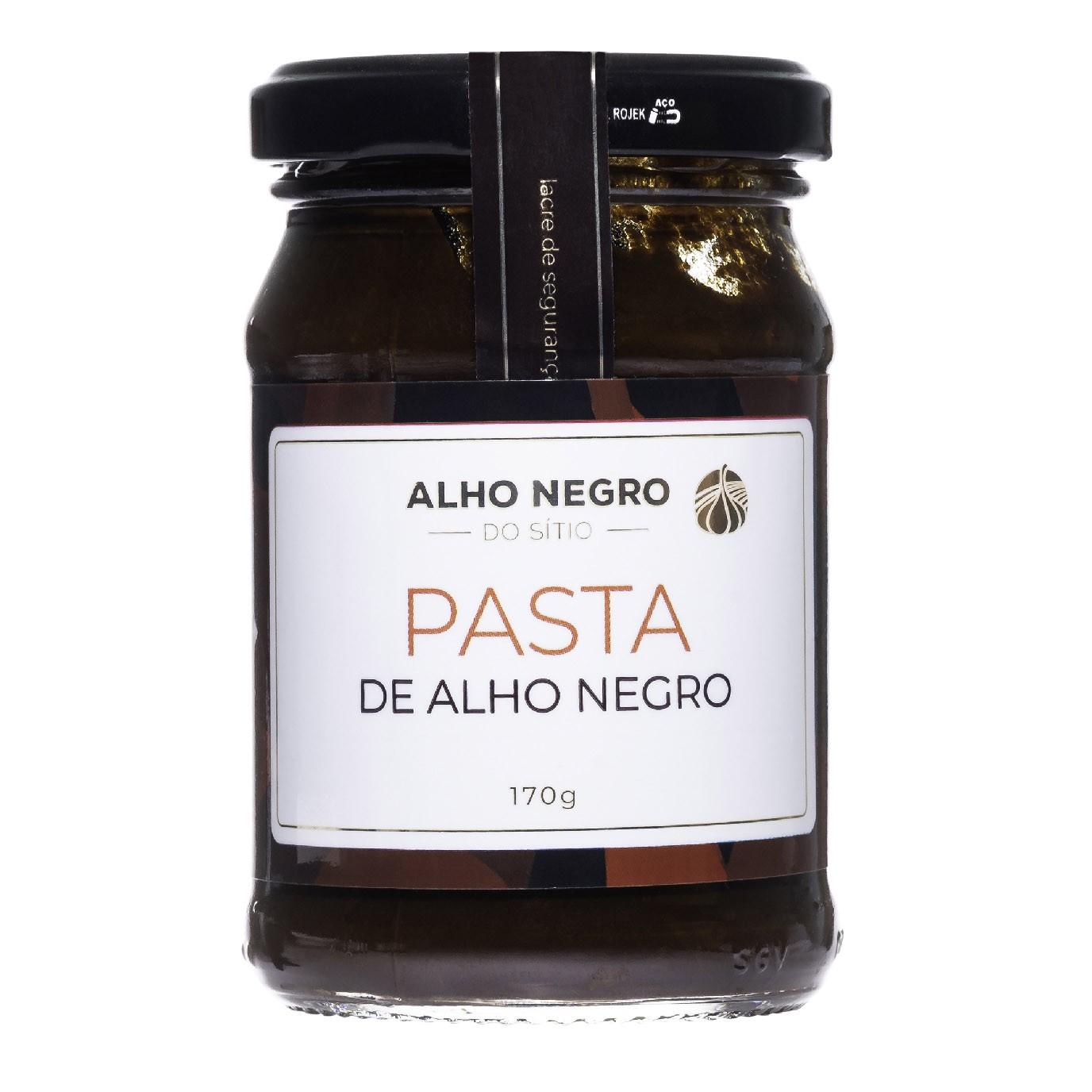 PASTA DE ALHO NEGRO - 170g  - Empório Pata Negra
