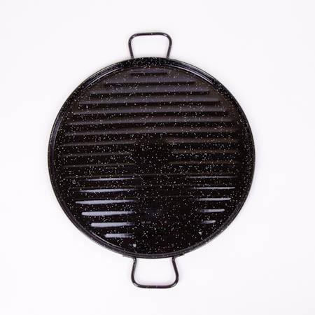 Plancha Grill Esmaltada 46 cm - Garcima  - Empório Pata Negra