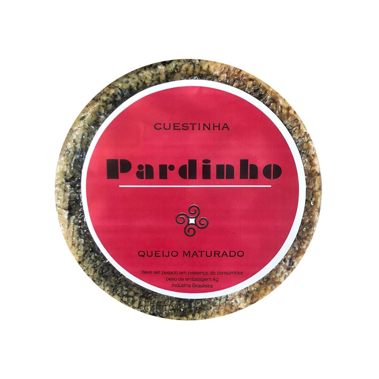 QUEIJO MATURADO  CUESTINHA PARDINHO- 550g  - Empório Pata Negra