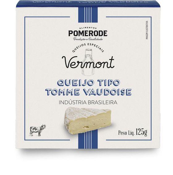 QUEIJO TIPO TOMME VAUDOISE VERMONT - POMERODE 125g  - Empório Pata Negra