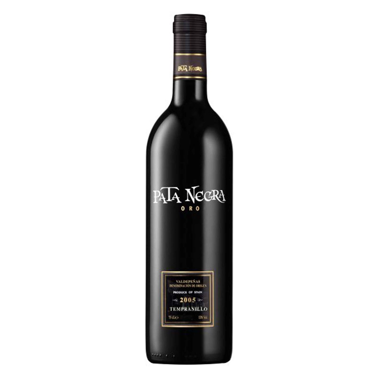 Vinho Pata Negra Oro Tempranilho - 750ml  - Empório Pata Negra