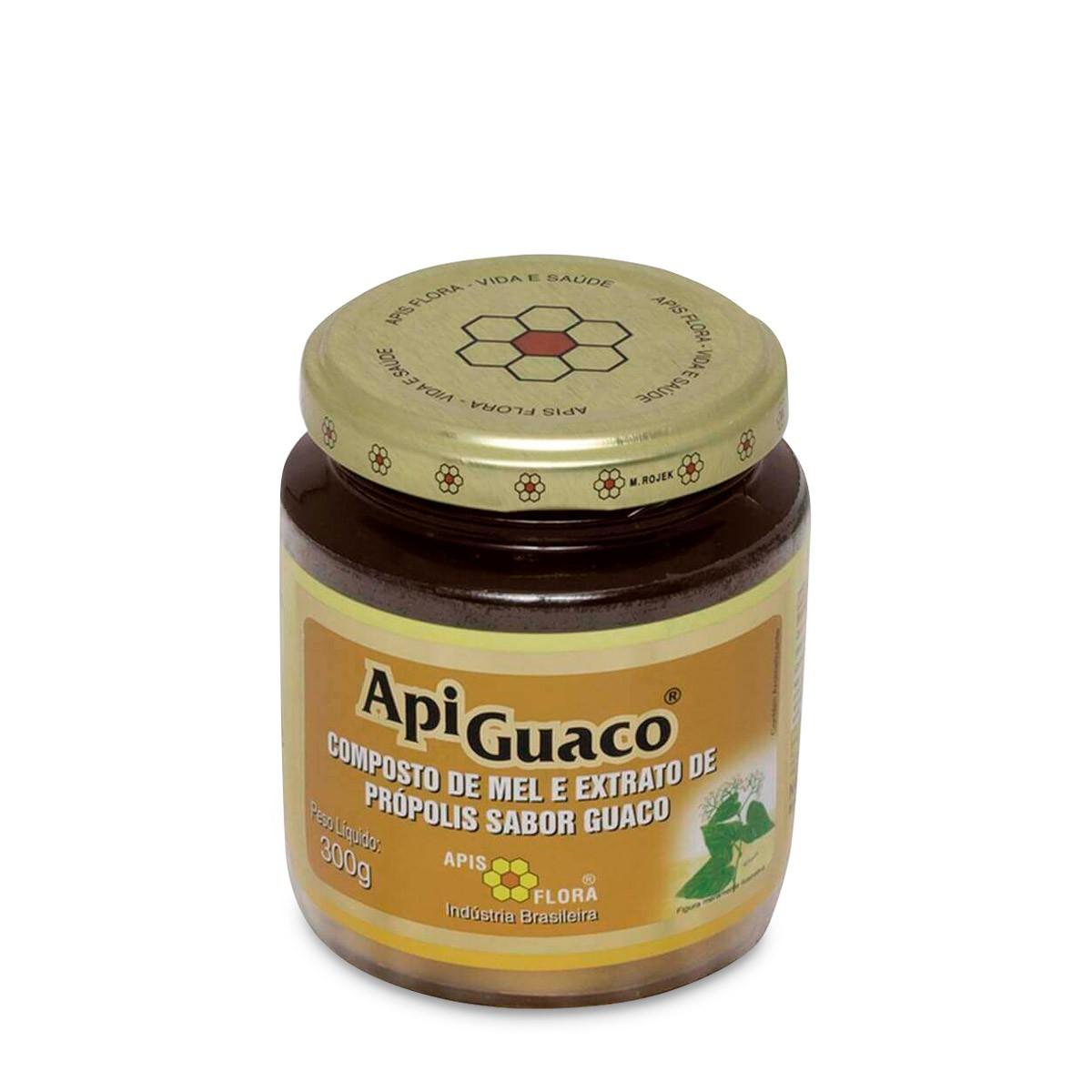 Apiguaco - Mel com Própolis e Guaco 300g