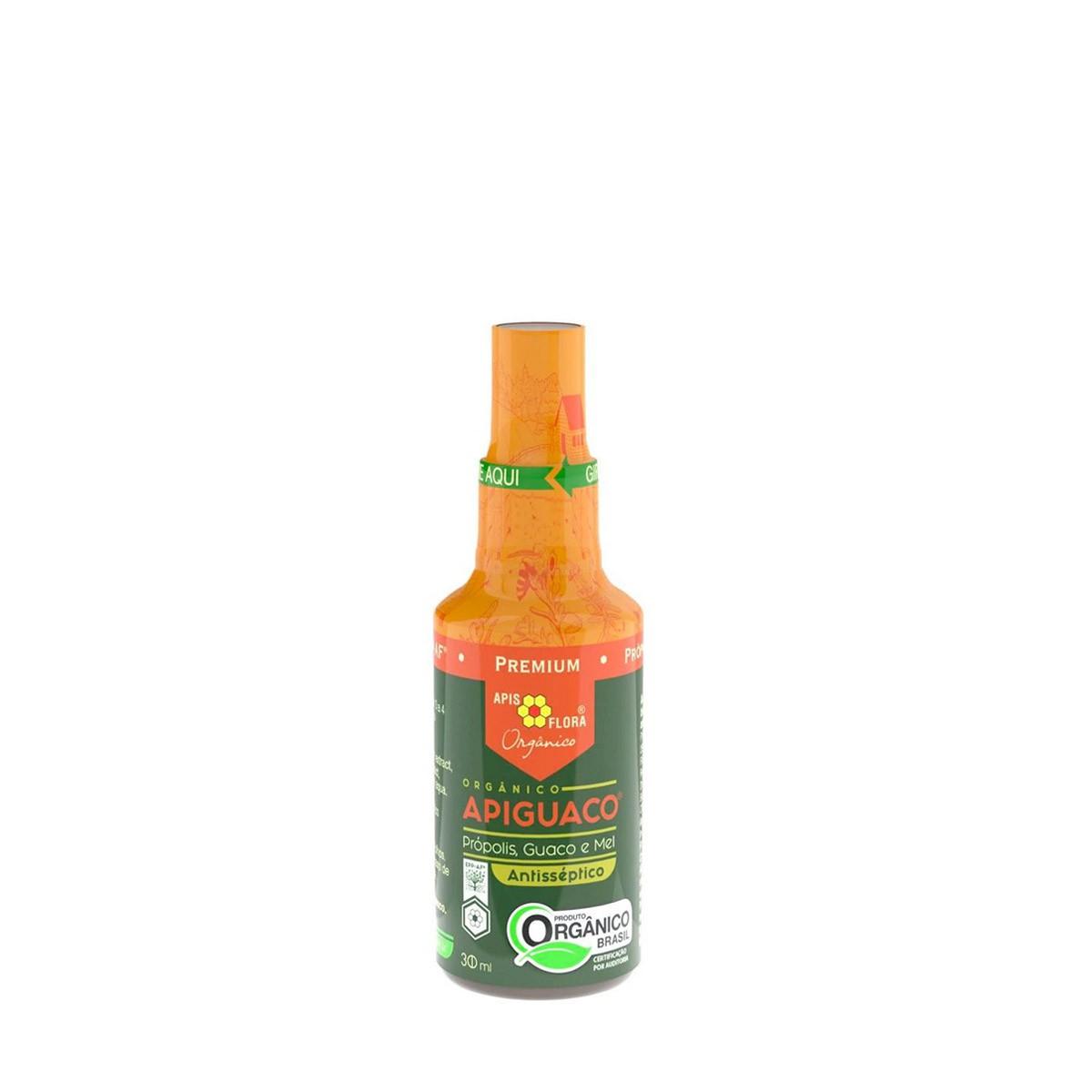 APIGUACO Spray Orgânico - Própolis, Mel e Guaco 30ml