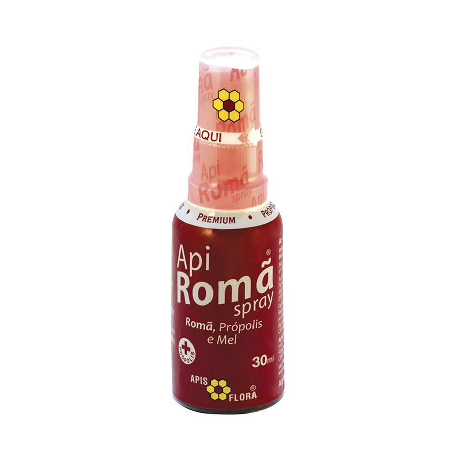 Apiromã Spray - Própolis, Mel e Romã 30ml