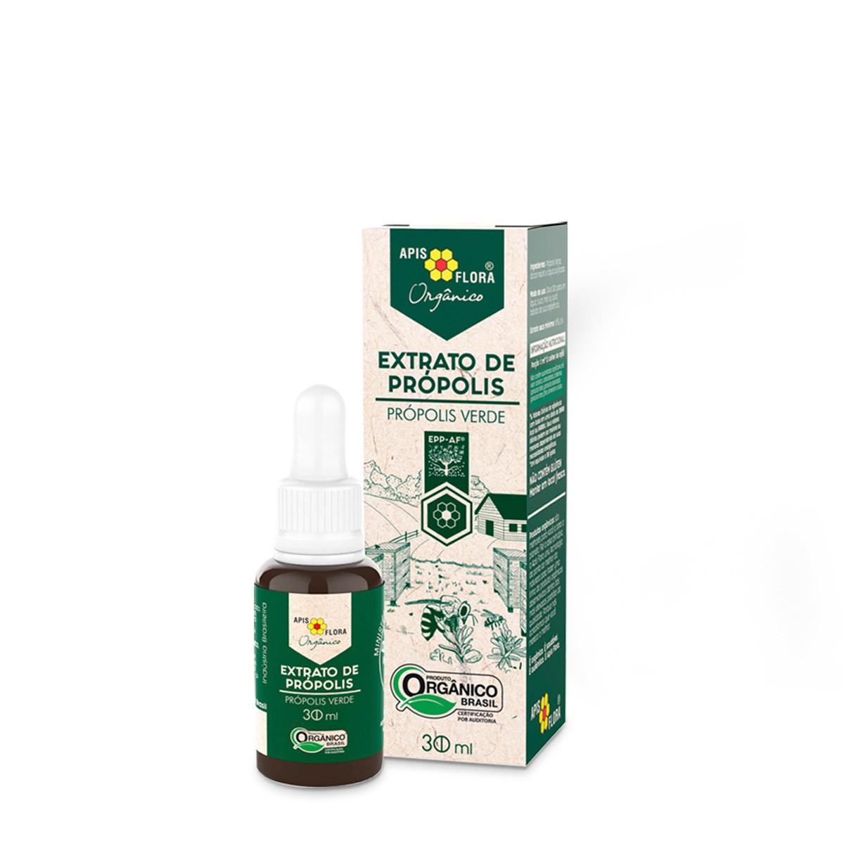 Extrato de Própolis Verde Orgânico 30 ml Apis Flora