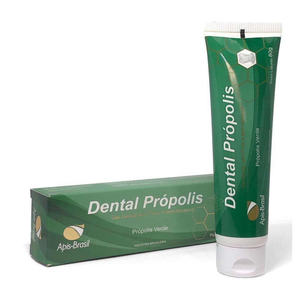 Gel Dental de Própolis Verde Sem Abrasivos 80g