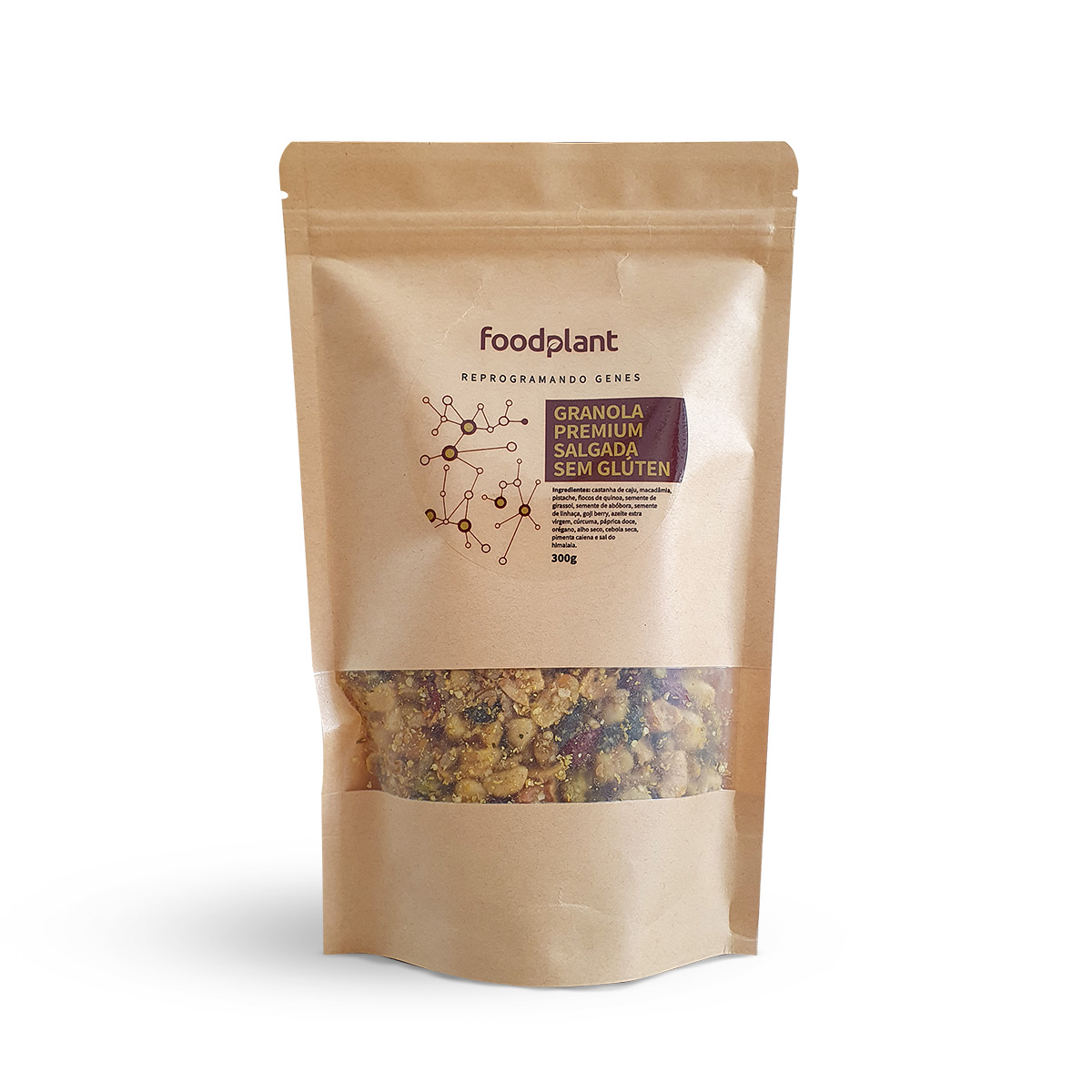 Granola Premium Salgada Foodplant 300g