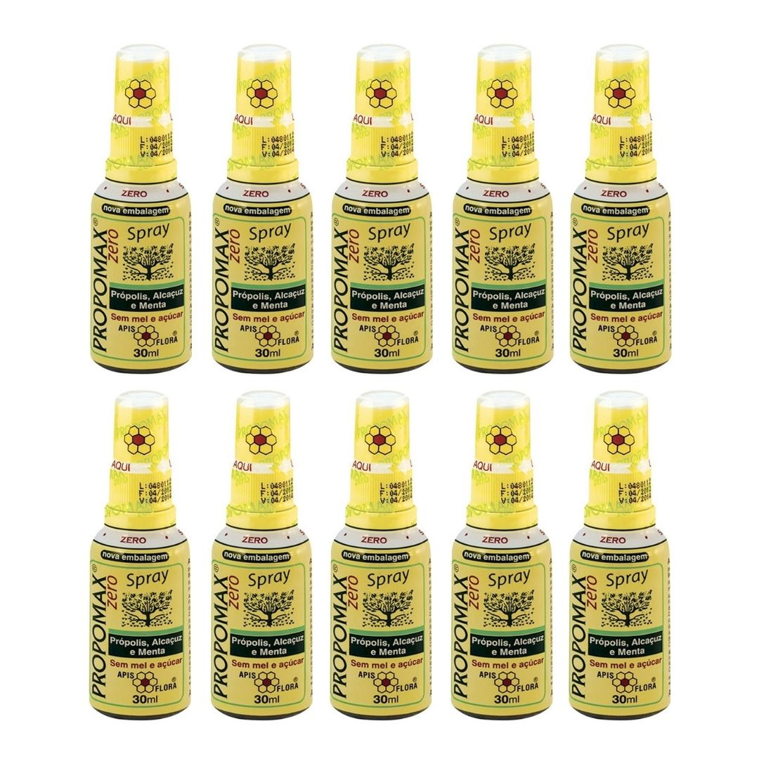 Kit 10 Propomax - Spray Zero Açúcar