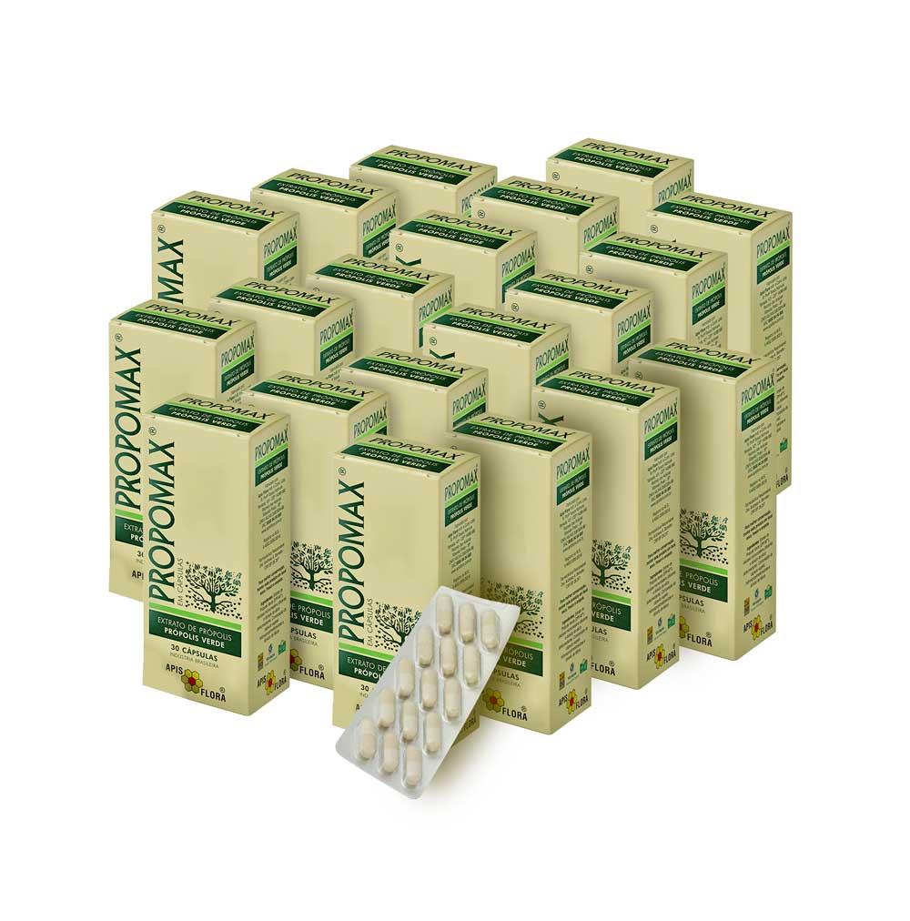 Kit 20 Propomax - Própolis Verde em Cápsulas