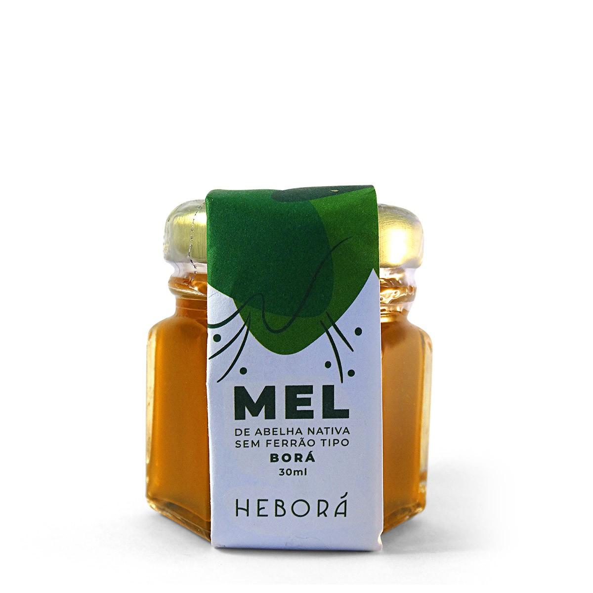 Mel de Abelha Nativa BORÁ Heborá 30ml
