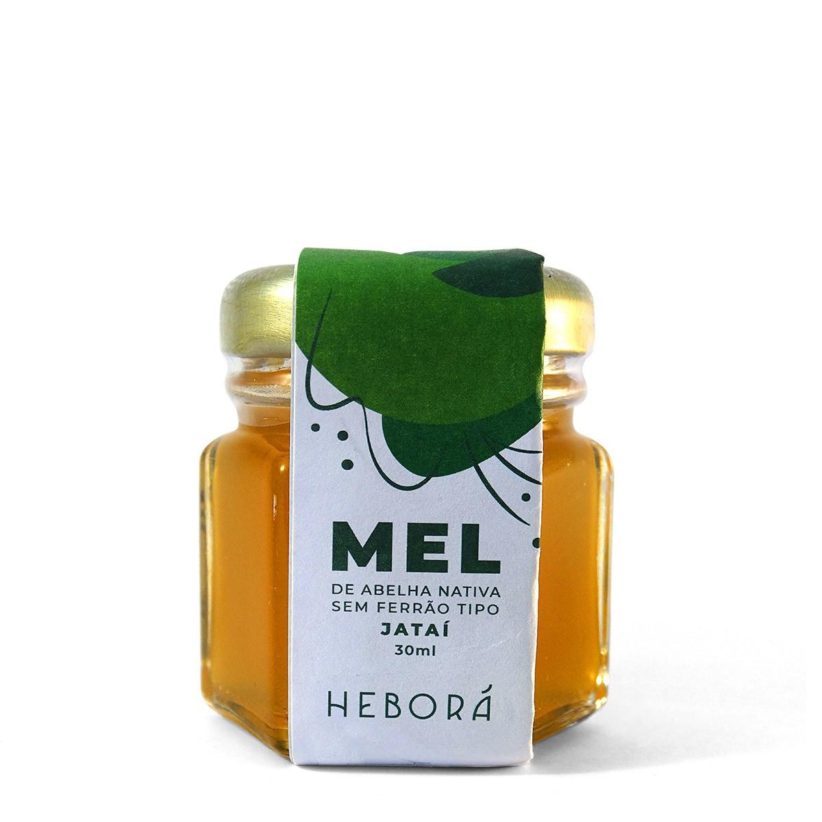 Mel de Abelha Nativa JATAÍ Heborá 30ml