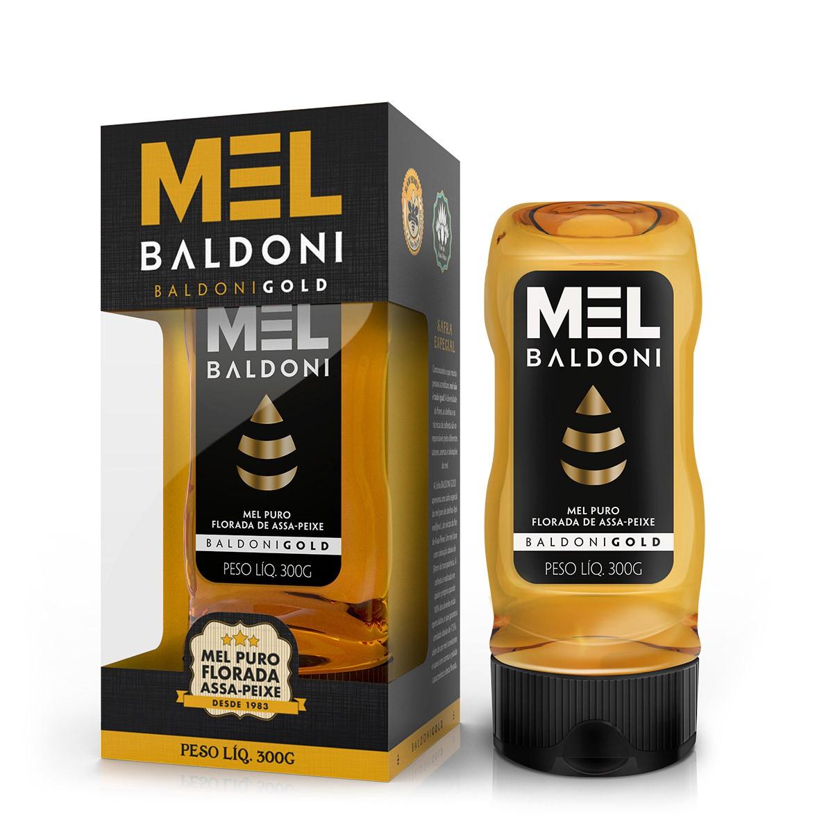 Mel Gold Flor de Assa-Peixe 300g Baldoni
