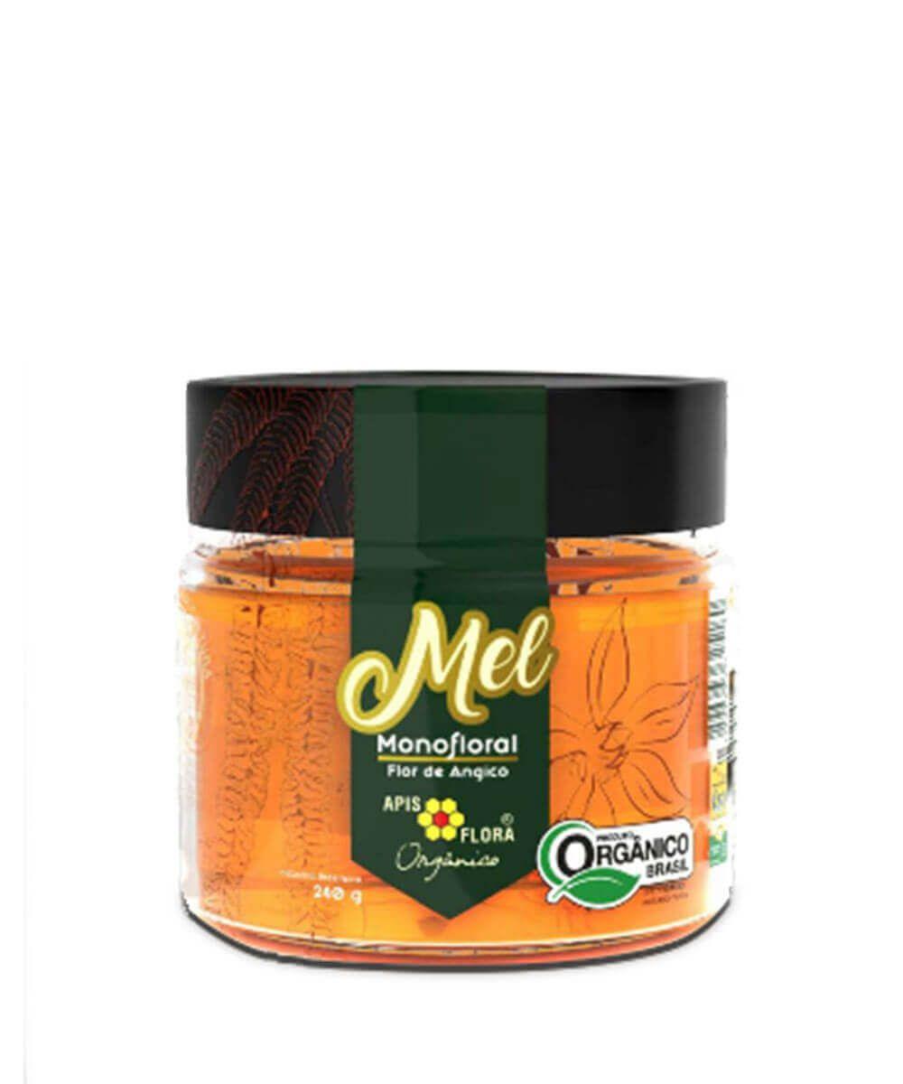 Mel Orgânico Angico Apis Flora 240g