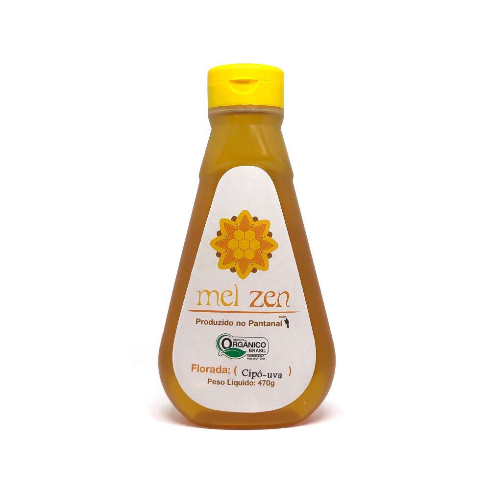 Mel Zen Flor de Cipó-Uva Orgânico 470g