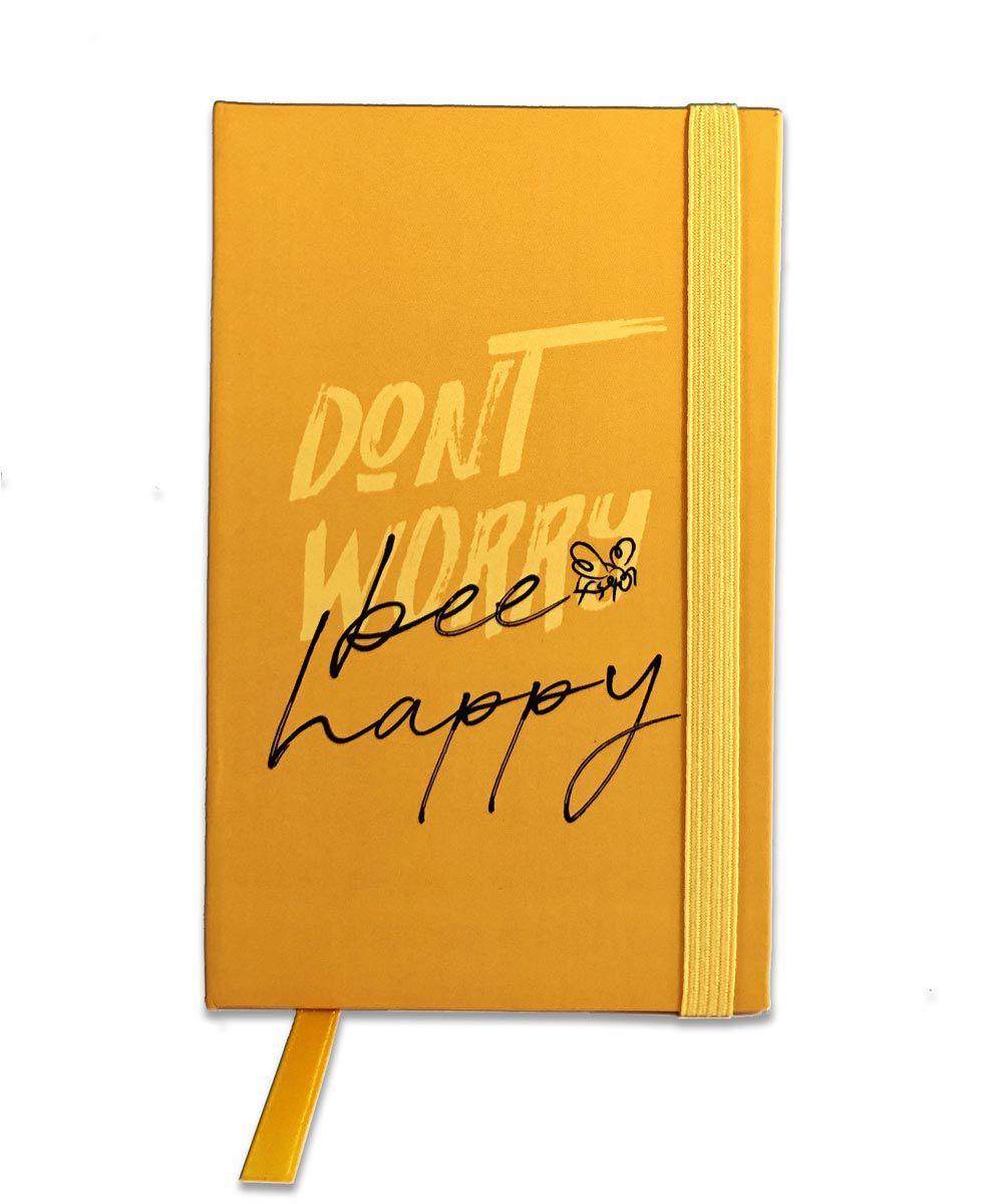 Mini Caderno de Anotações - Bee Happy