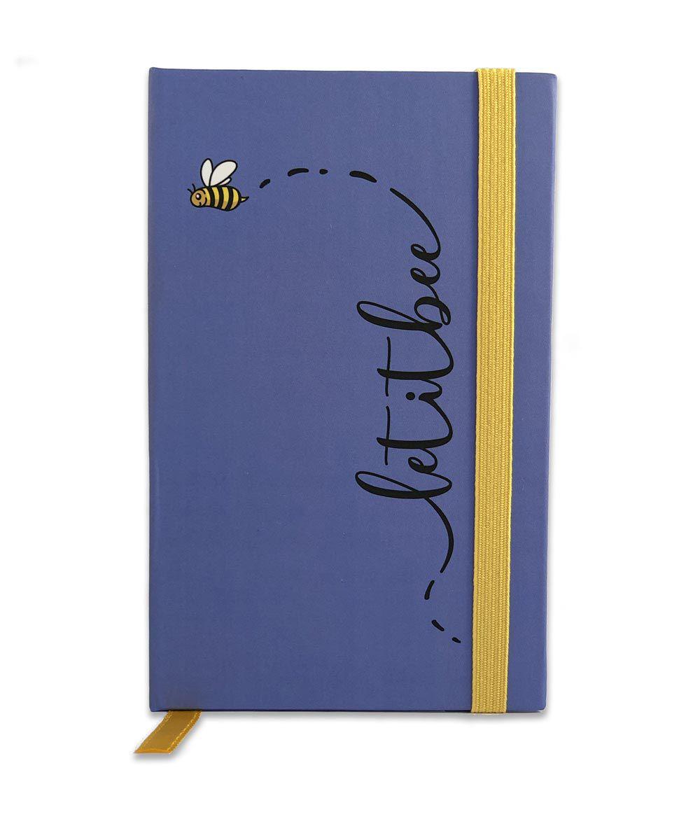 Mini Caderno de Anotações - Let It Bee