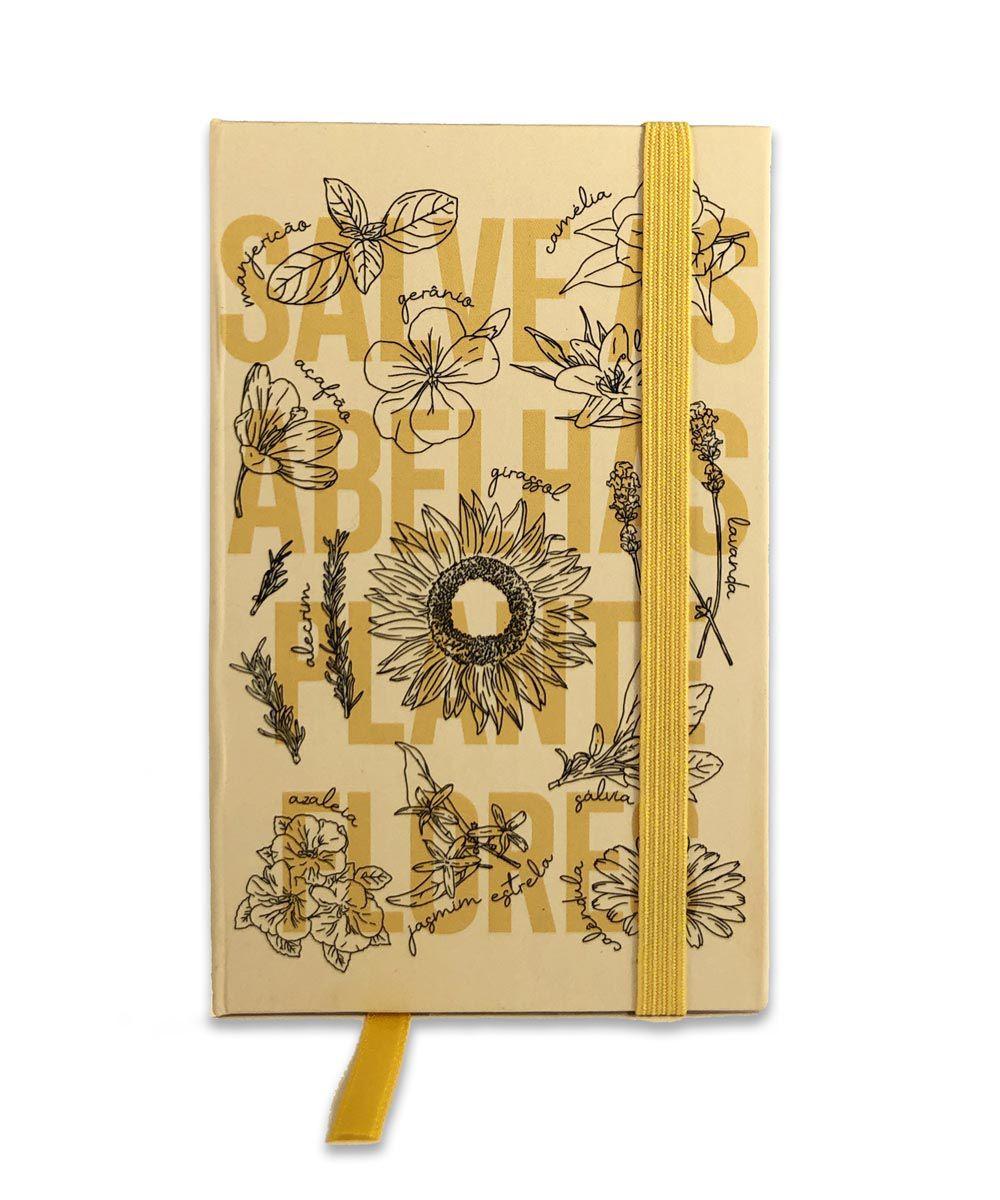 Mini Caderno de Anotações - Salve as Abelhas