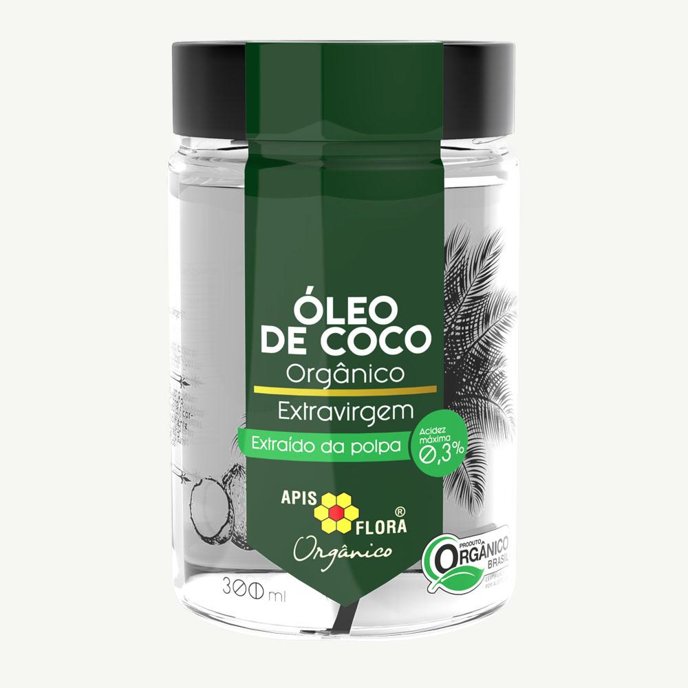 Óleo de Coco Orgânico Extravirgem Apis Flora 300ml