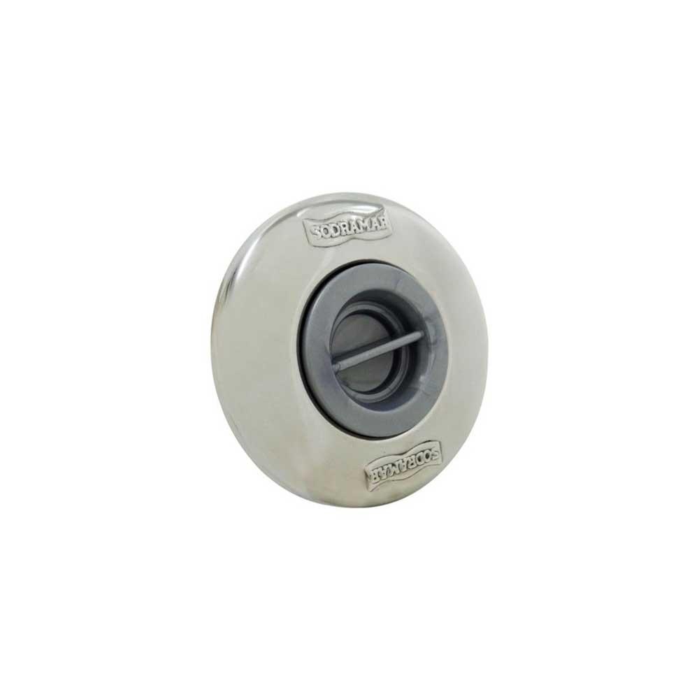 """Dispositivo Aspiração Pratic 60mm 2"""" Inox Sodramar"""